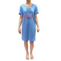 George Ladies' Nightshirt Blue X-Large