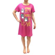 George Ladies' Nightshirt Pink Large