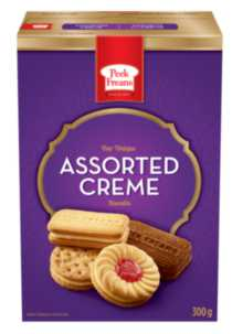 Peek Freans Assorted Crème Biscuit
