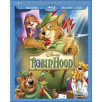 Robin Hood: 40th Anniversary Edition (Blu-ray + DVD)