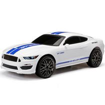 New Bright 1:12 RC Chargers Shelby GT 350 White Ford Mustang Toy Vehicle