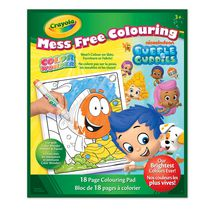 Color Wonder Colouring Book - Bubble Guppies