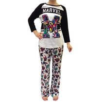 Marvel Ladies' Charming License Pyjama Set XXL