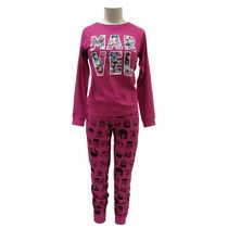 Marvel Ladies' License Reversible 2 piece Pyjama Set M