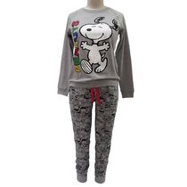 Peanuts Ladies' License Reversible 2 piece Pyjama Set L