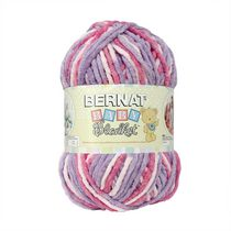 Bernat Baby Blanket Big Ball Yarn Pretty Girl