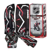 Franklin Sports NHL Junior Street Hockey Goalie Set