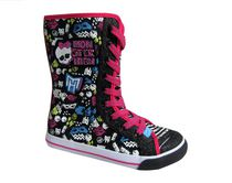 Monster High Toddler Girls' Lace Up Boot-style Shoes 3