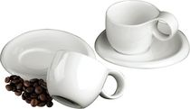 DeaGourmet Nifea Classica Collection : Italian Designer Espresso Set for 2
