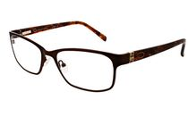 Oscar OSL456 Women's Brown Eyeglasses
