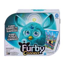Application d'apprentissage en turquoise de Furby Connect - Anglais
