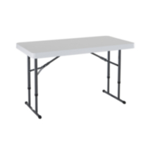 Lifetime 4-Foot Commercial Adjustable Folding Table