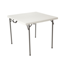 Table carrée pliante en deux de 86 cm de Lifetime