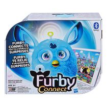 Application d'apprentissage en bleu de Furby Connect - Anglais