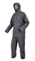 PVC/Polyester Rain Suit XL/XXL Grey