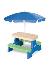 Endless Adventures® Easy Store Jr. Table with Umbrella