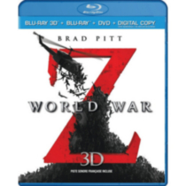 World War Z (Blu-ray 3D + Blu-ray + DVD + Digital Copy) (Bilingual)