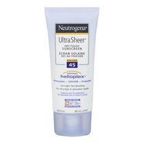 Neutrogena® Ultra Sheer® SPF 45 Dry-Touch Sunscreen