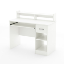 Bureau de travail collection Smart Basics de Meubles South Shore Blanc