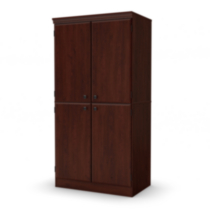 South Shore Morgan Storage Cabinet Royal Cherry