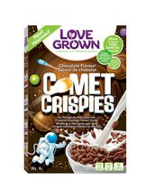 Céréales au chocolat Comet Crispies de Love Grown