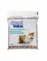Great Value Hamster & Gerbil Food - 1.8kg