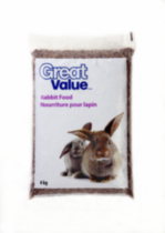 Nouriture pour lapin Great Value - 4 kg