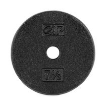 CAP Barbell 1-inch Cast Iron Black Weight Single Plate