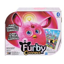 Application d'apprentissage en rose de Furby Connect - Anglais