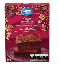 Great Value Fudge Brownie Mix