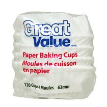 Great Value Paper Baking Cups