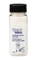 Great Value Coarse Sea Salt