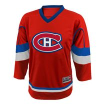 NHL Boys' Montreal Canadiens Team Long Sleeve Jersey L/XL