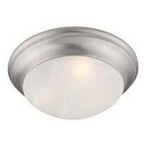 Coronado 1-Light Plantinize Flush Mount