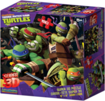 Teenage Mutant Ninja Turtles Super 3D puzzle