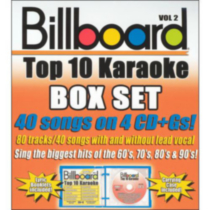 Sybersound - Billboard Top 10 Karaoke Box Set, Vol.2 (4CD)