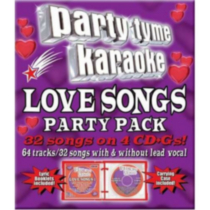 Sybersound - Party Tyme Karaoke: Love Songs Party Pack (4CD)