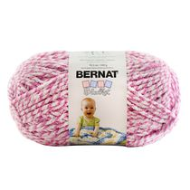 Bernat Baby Blanket Big Ball Yarn Pink Twist