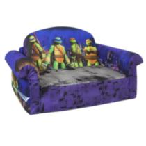 marshmallow canap d pliable les tortues ninja. Black Bedroom Furniture Sets. Home Design Ideas