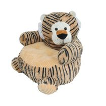 Friend's Boutique Plush Chair - Tiger