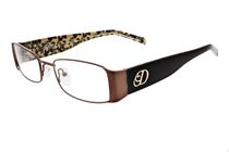 Dereon DOV501 Women's Brown Eyeglasses