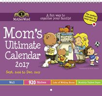 Motherword Mom's Ultimate Small Calendar