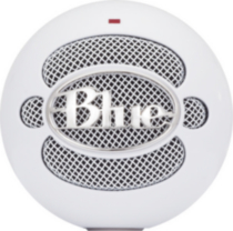 Blue Microphones Snowball iCE USB Microphone, White