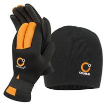 Celsius Neoprene Glove and Hat Combo-L