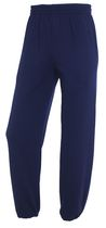 Fruit of the Loom Men's Fleece Elastic Bottom Pants Navy S