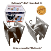 MULTINAUTIC Heavy Duty Floating Dock Hinge Kit