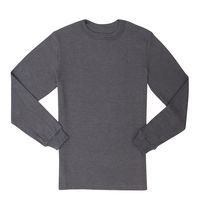 Athletic Works Mens Thermal Crew Neck Grey XXXL