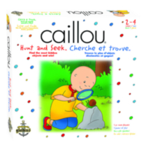 Caillou Hunt and Seek