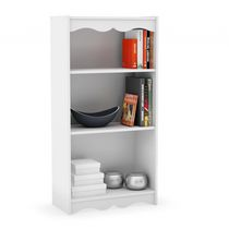 "Sonax S-017-NHL Hawthorn 48"" Tall Bookcase in Frost White"
