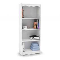 "Sonax S-117-NHL Hawthorn 60"" Tall Bookcase in Frost White"